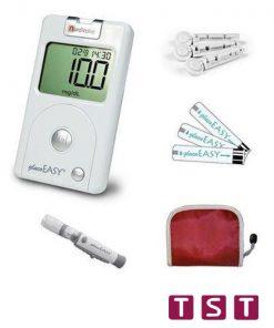 دستگاه تست قند خون نوردایتالیا - کیت 50 عدد مدل Gloco sure