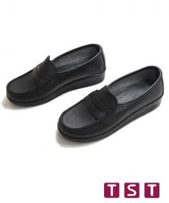 کفش طبی زنانه دکتر شول مدل کلاسیک مشکی 03