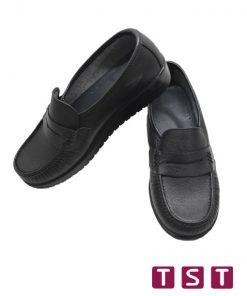 کفش طبی زنانه دکتر شول مدل کلاسیک مشکی
